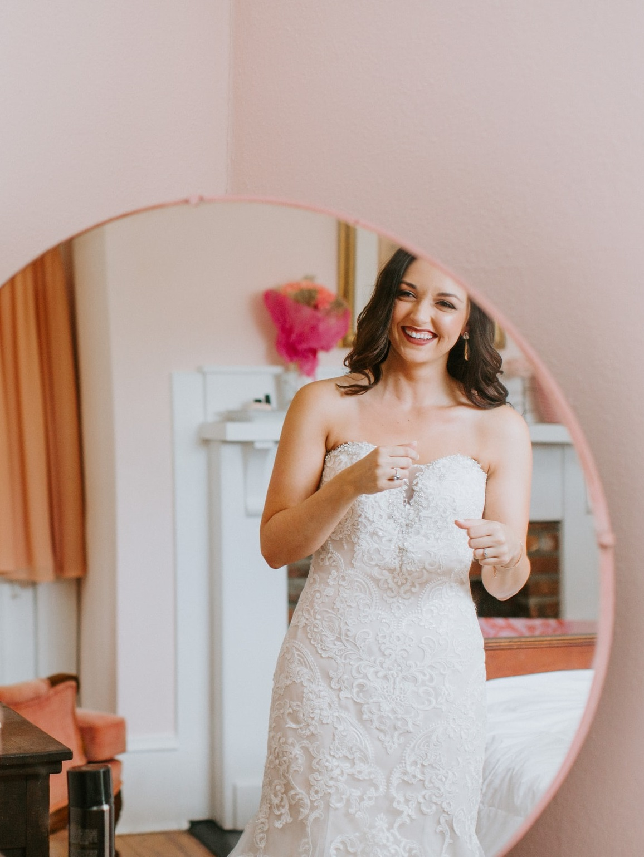 Medium quality wedding dress