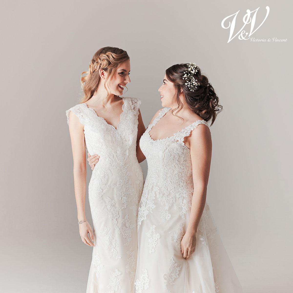 Victoria & Vincent bridal gowns