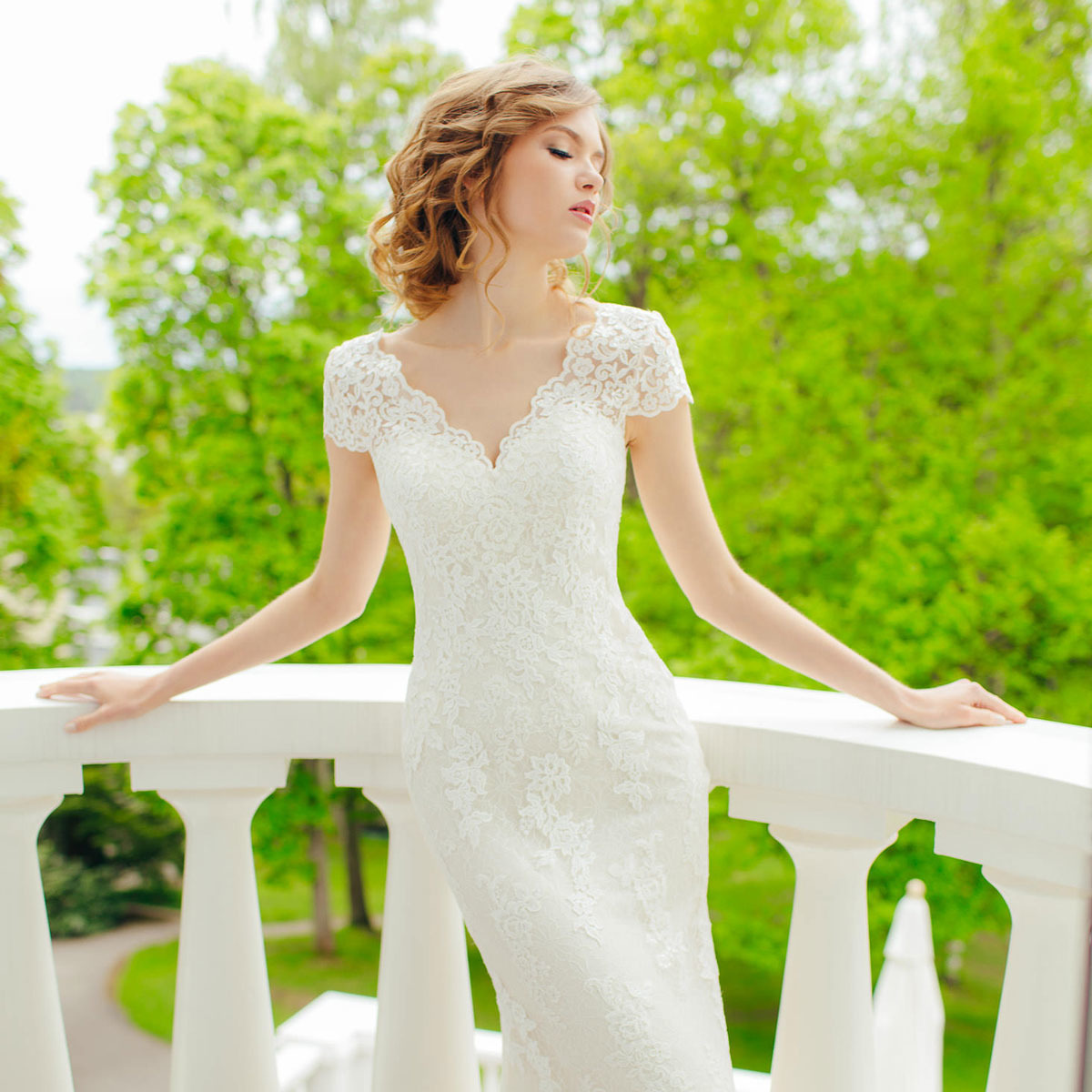 Wedding dress from Victoria & Vincent